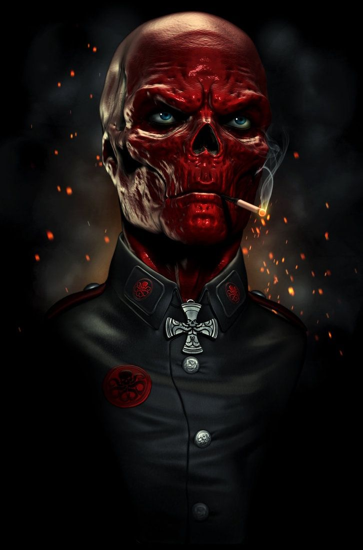Red Skull (Johann Shmidt) is a fictional character, a supervillain in the Marvel Comics universe. Created by Joe Simon, Jack Kirby and France Herron, he first appeared in Captain America Comics #1 in 1941. Born the son of an abusive, drunken German villager named Hermann Shmidt and his saintly, long suffering wife Martha, who for years endured abuse and beatings from her husband. Martha died giving birth to Johann, their only child. Driven to madness by the death of the woman he both loved…