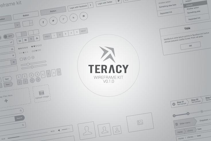 Teracy - Wireframe UI Kit