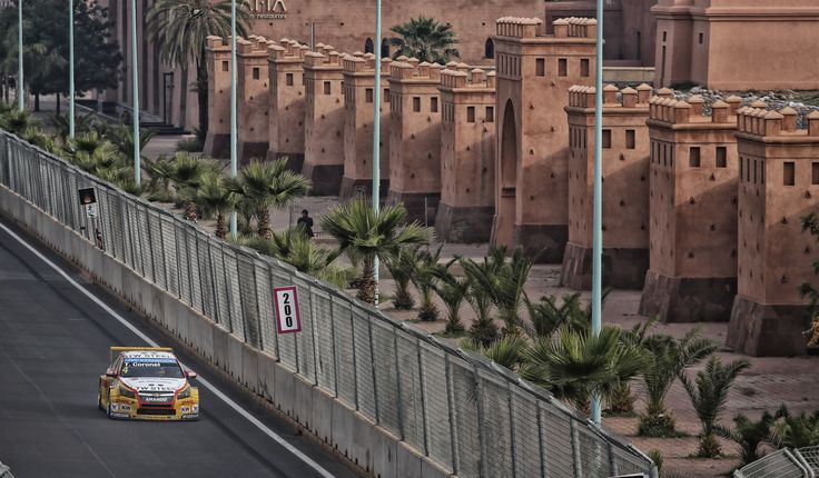 Marocco long straight between the chicanes :)