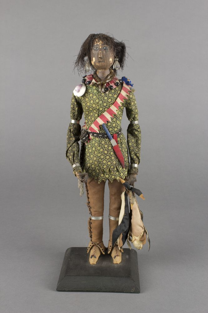 Huron Indian Antique Doll.