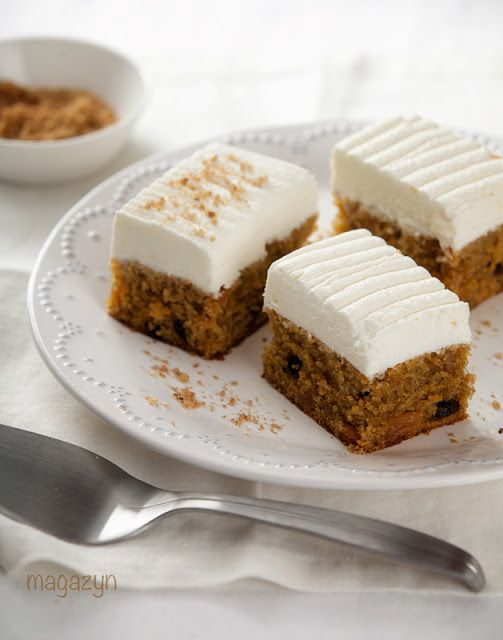 Ciasto marchewkowe - Magazyn Kuchenny