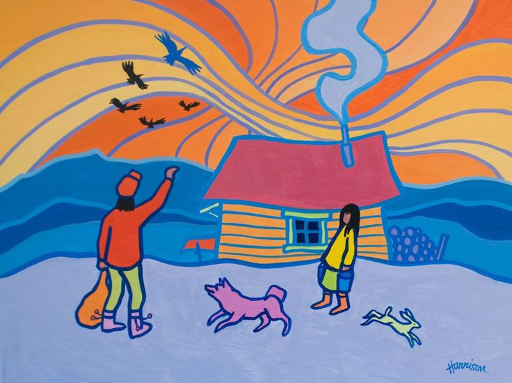 Well known Canadian artist, Ted Harrison passed away Friday morning at his…