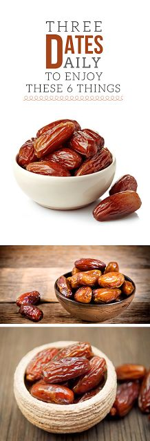 EAT 3 DATES DAILY AND THESE 6 THINGS WILL HAPPEN