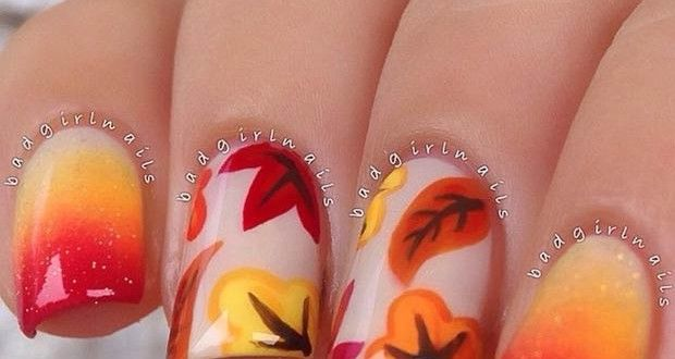 Autumn Nail Designs 2015 When it comes to nail trends, fall is all about goingdark and bold. Dark...