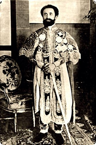 Emperor Haile Selassie I, Ras Tafari by Kwadwo Kwarte, via Flickr