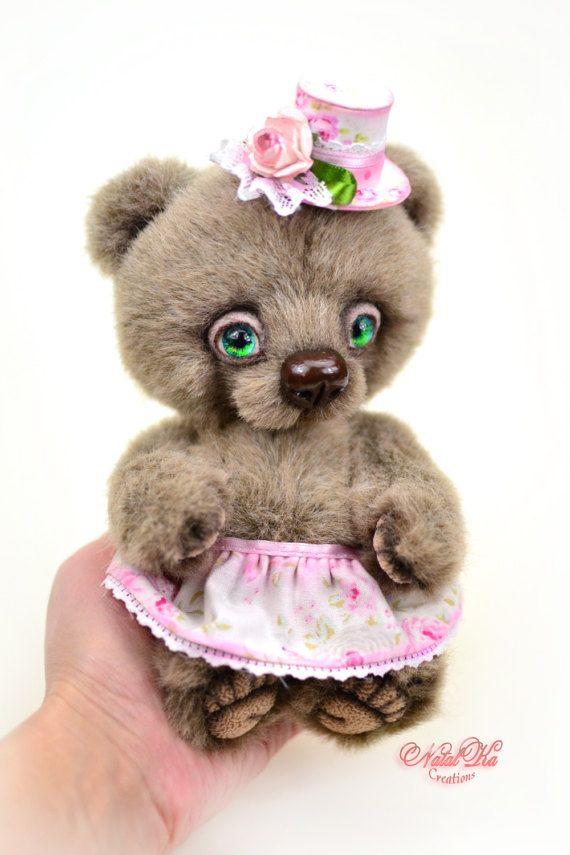 The 216 best Artist teddy bears and friends handmade by NatalKa ...