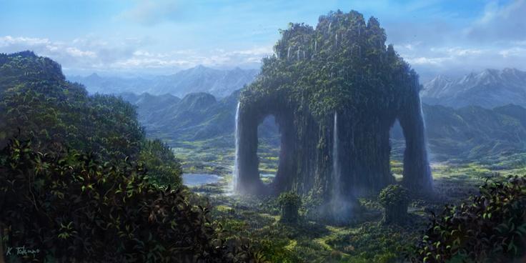 the spirit tree: Fantasy Trees, Fantasy Places, Spirit Trees, Inspiration Places, Imbolc Wood