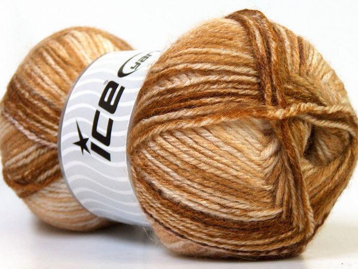 Alpaca Color Crème Shades Brown