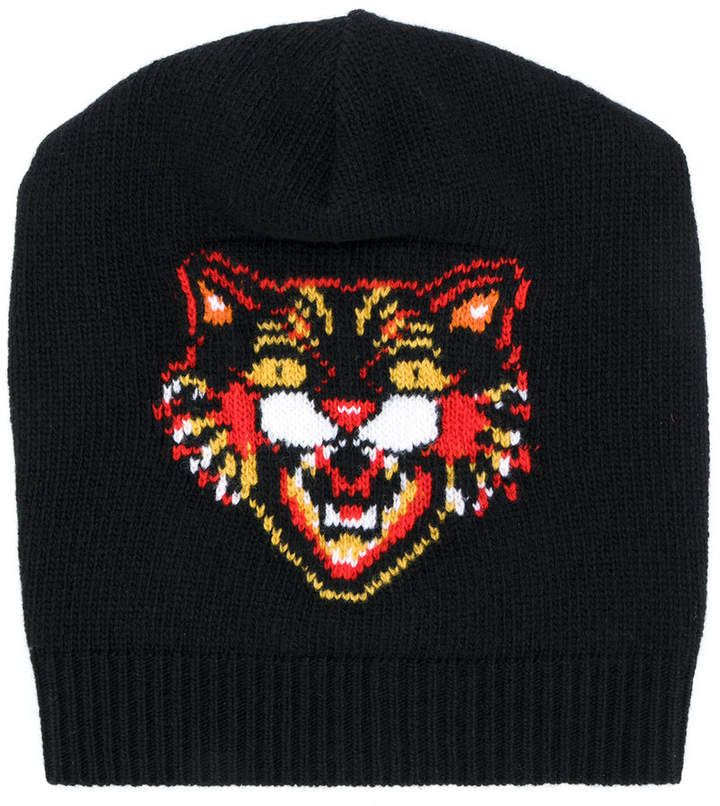 0f28b2ecfb2d7 Gucci Tiger beanie  Gucci  caps  hats  ShopStyle  MyShopStyle click link for