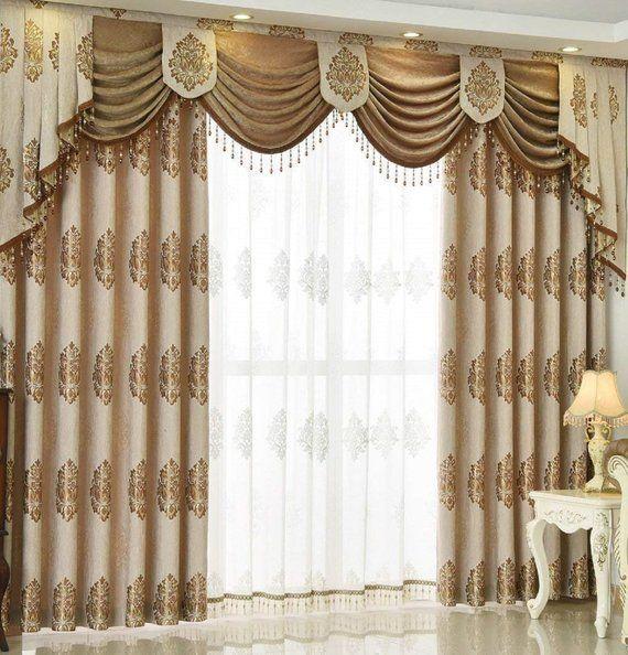 Blackout Curtain Grommets Living Room Sheers Panels Bedroom Window
