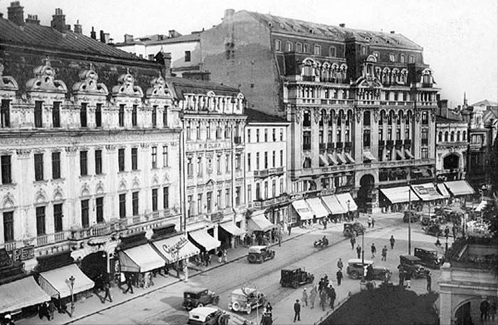Theater Square- old Bucharest
