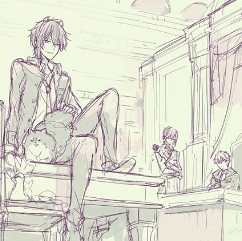 Dance with Devils- Shiki, Urie, and Rem #Anime #Game #Otome