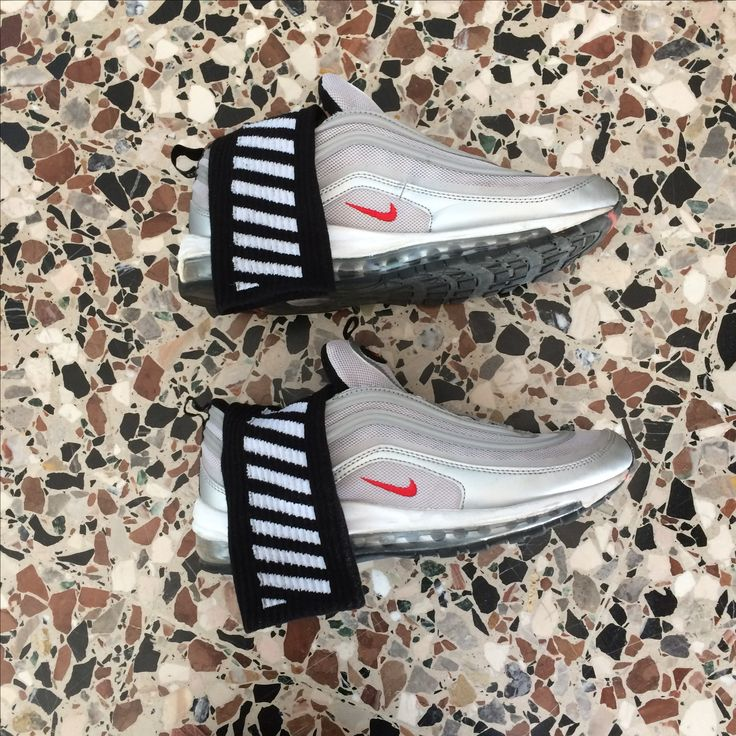 Nike x Off White sneakers #nike air max 97 silver socks #Offwhite
