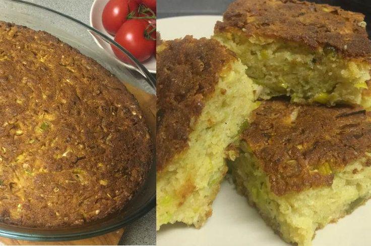 Pırasalı ve Peynirli Tuzlu Kek                        -  Tülay Rashid #yemekmutfak