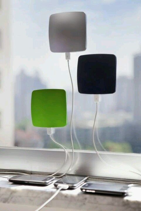 So cool. Solar phone charger. #solar #renewable #energy