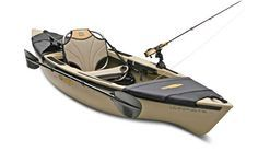 Ultimate fishing kayak?  At what point does it stop being a kayak, and start being a canoe??