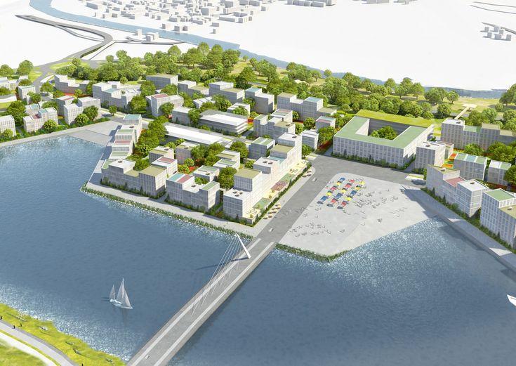 """Galería de MVRDV revela nuevas imágenes del masterplan de """"La Grande Mosaïque"""" de 600 hectáreas en Caen - 12"""