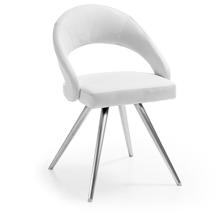 silla vanity blanco
