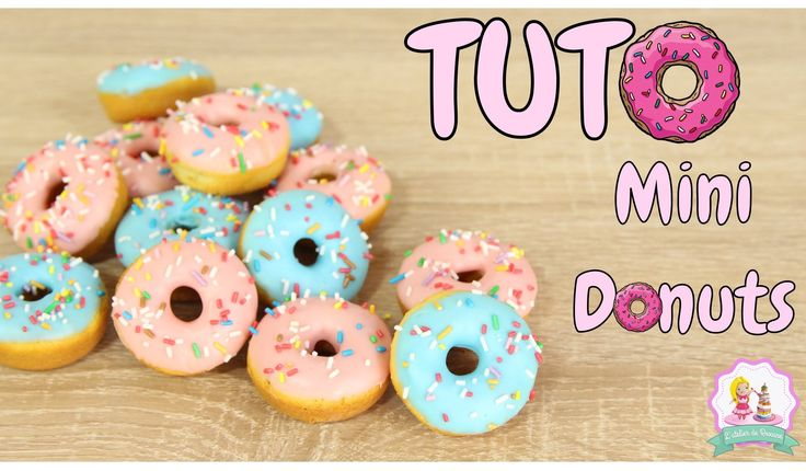 Mini donuts, recette donuts rapide et facile, donuts recipe, simpsons donuts, tuto donuts,