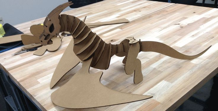 10 best kt crafts images on pinterest monkeys at sign for Cardboard dragon template