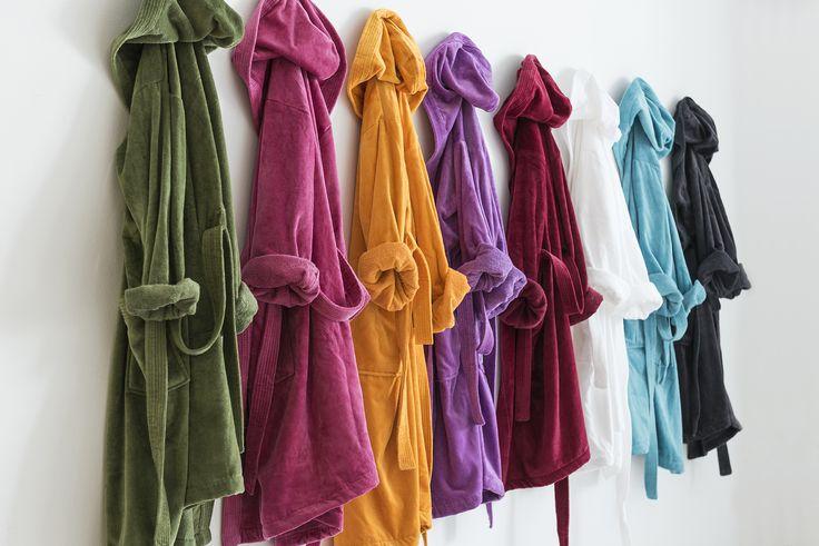 Albornoces de alta calidad para culminar tu baño. www.lamallorquina.com
