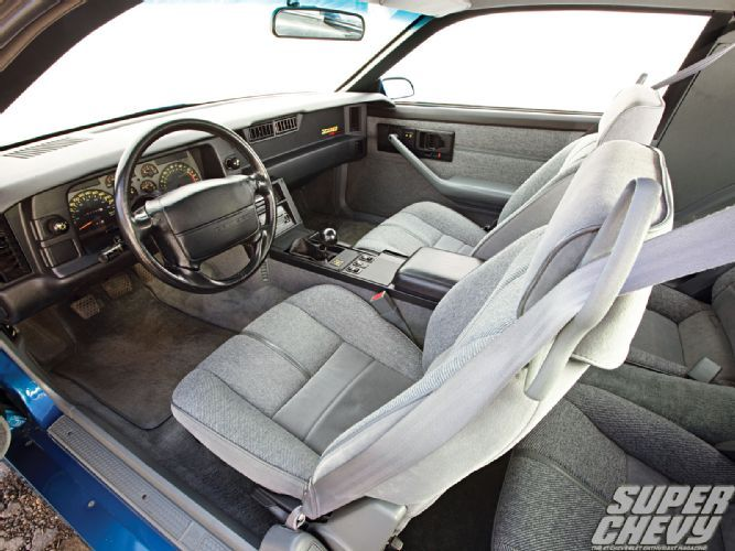 As factory performance started to stir from its Malaise Era hibernation, Chevrolet decided to crank out some track-ready camaros, in cluding this 1992 Chevy Camaro. Click here for more details or check out the August 2012 issue of Super Chevy Magazine.