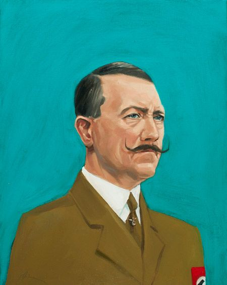oliver jeffers dictators and hair