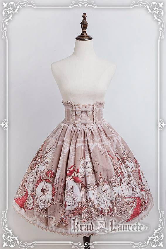 Krad Lanrete Cinderella Corset Skirt