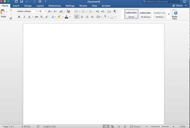 Het gaat om de Pattern Center Stage.  De app is Word Document.