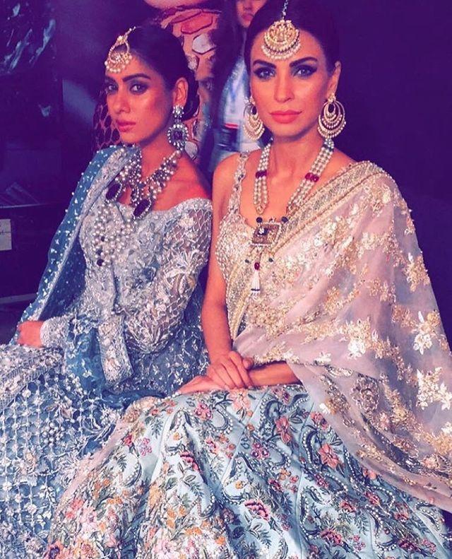 Pakistani couture. Elan