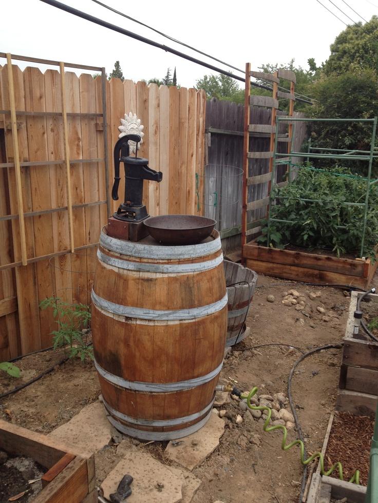 Best Barrels Spools Images On Pinterest Wine Barrel Sink - Wine barrel bathroom vanity for bathroom decor ideas