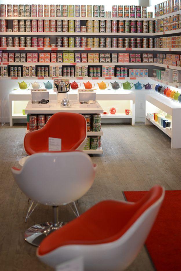 Kusmi Tea boutique in Montreal, Canada