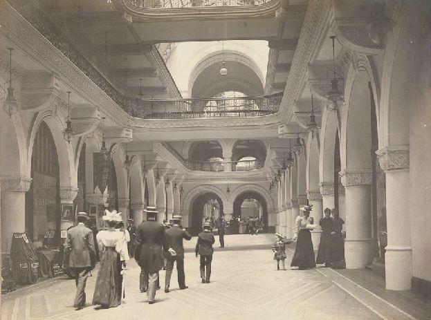 Queen Victoria Markets c1899