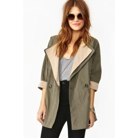 NASTY GAL TWO TONE ANORAK