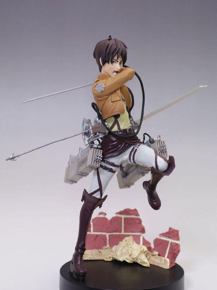 Attack on Titan Eren Yeager PVC Figure Vertical Mamuevering Shingeki no kyojin