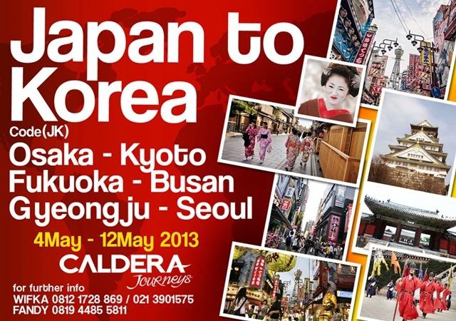 Japan to Korea