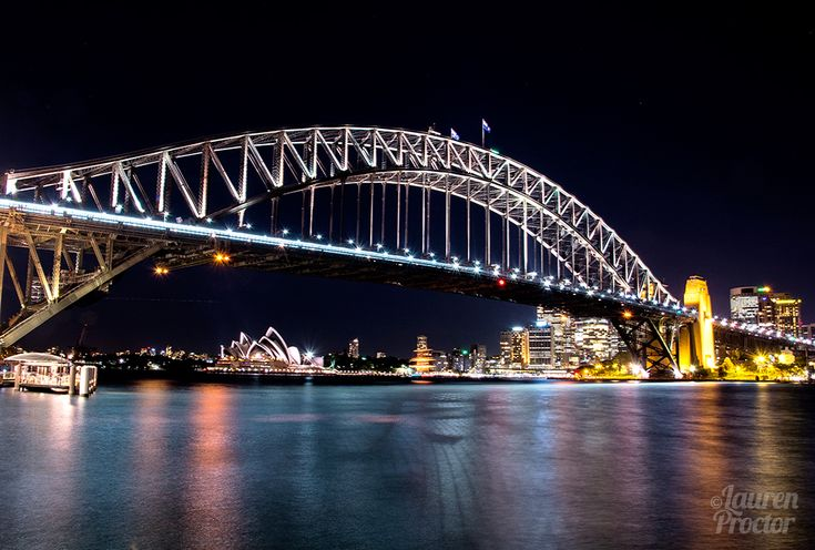 Sydney reflections in all their glory from Milsons Point - Lauren Proctor Photography