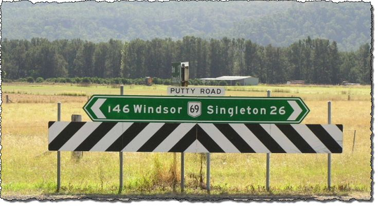 An Interesting read about the Ride up the Putty Road NSW.