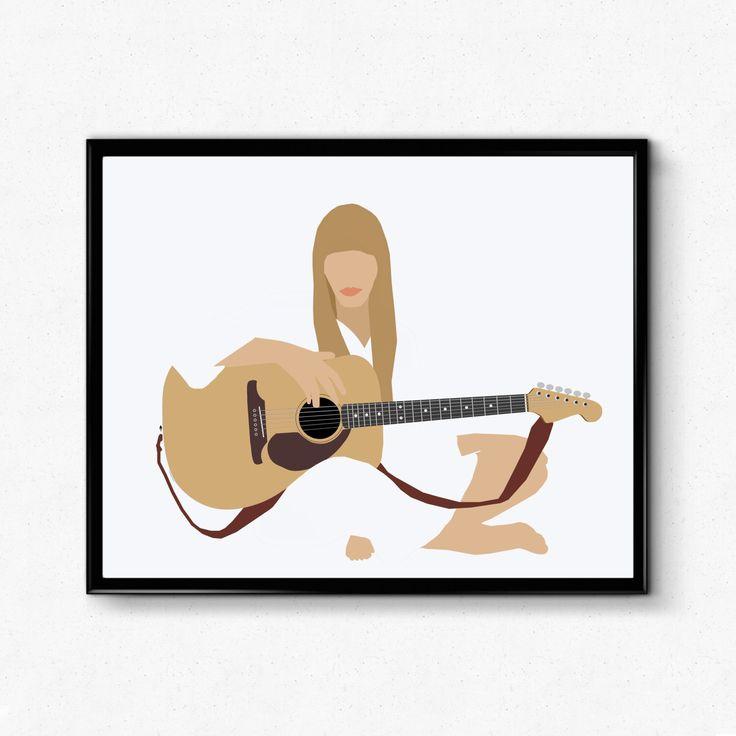 Joni Mitchell Poster- Minimalist Music Poster, Feminist Print by TheFilmArtist on Etsy https://www.etsy.com/listing/496583266/joni-mitchell-poster-minimalist-music