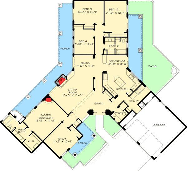 37 best Houseplans images on Pinterest Home plans Floor plans