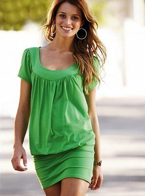 Green Summer Dress