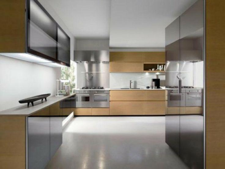 Kitchen Luxury Modern Safe Modern Kitchen Designs With Steel Brown Walnut  Kitchen Cabinets Lovely Safe Kitchen