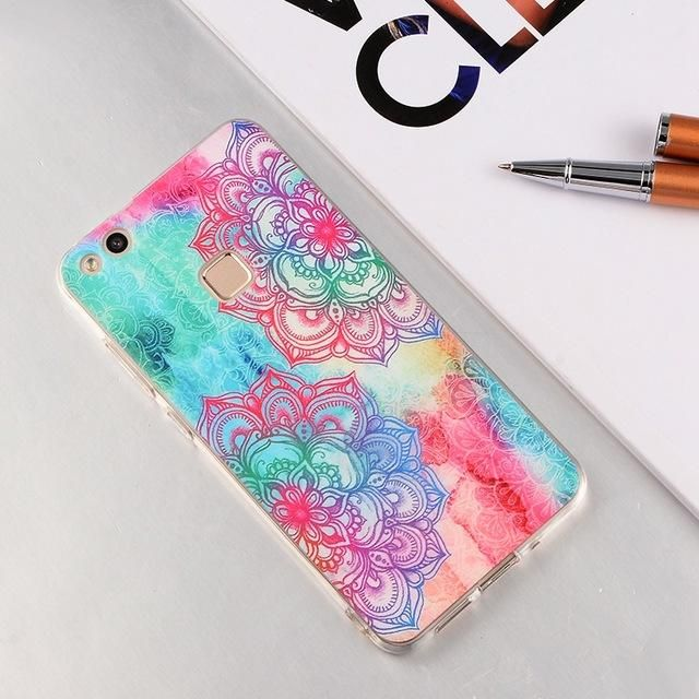 Soft TPU Silicon Phone Case for Huawei P10 Lite P9 P8 Honor 8 Lite P10 Plus P7 Y5 II Y6 Y3 II Honor 6X 5C 7 6 Back Cover Fundas