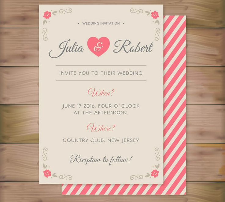 free wedding invitation templates country theme%0A Free and elegant invitation templates for you to make wedding invitation  card