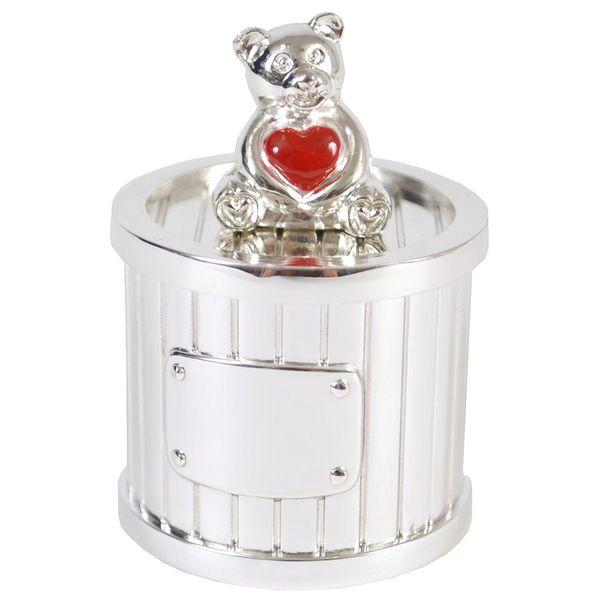 boite dents de lait ourson coeur rouge personnalis premiercadeau sur. Black Bedroom Furniture Sets. Home Design Ideas