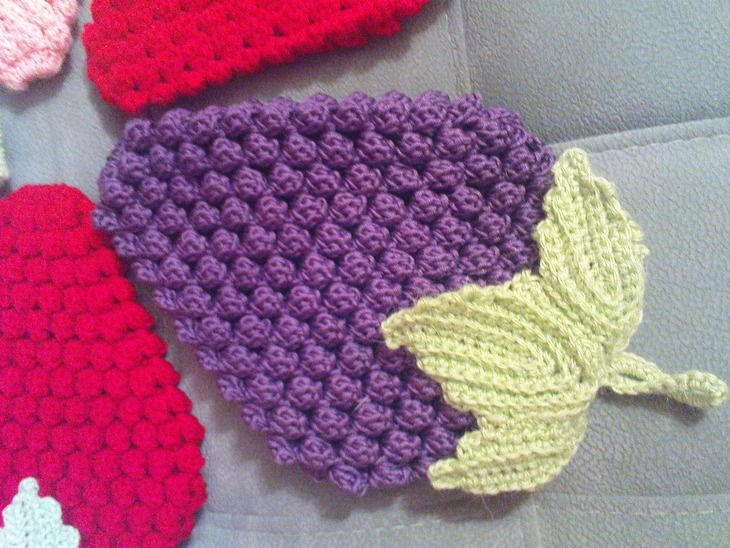 potholders crochet