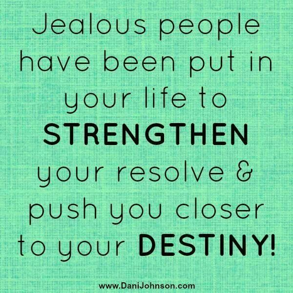 Positive Thoughts Bring Positive Results Quotes: Best 25+ Jealous People Quotes Ideas On Pinterest