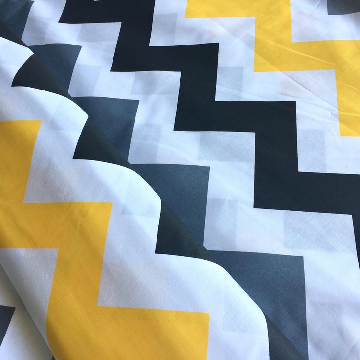 A personal favorite from my Etsy shop https://www.etsy.com/listing/536991109/colourful-zigzag-fabric-zigzag-fabric