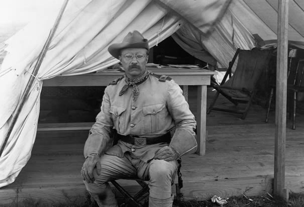 Teddy Roosevelt — Teddy Rides a Moose — History.com Photo Galleries