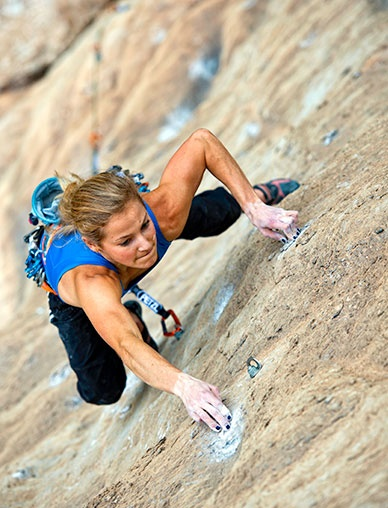 Sasha DiGiulian sends two 5.14bs in one day--Fish Eye and Los Humildes pa Casa in Spain | ROCK and ICE Magazine